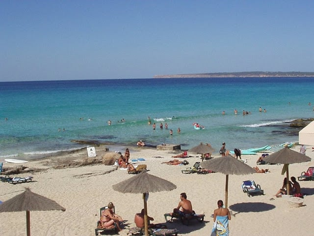 Playa Migjornem Formentera