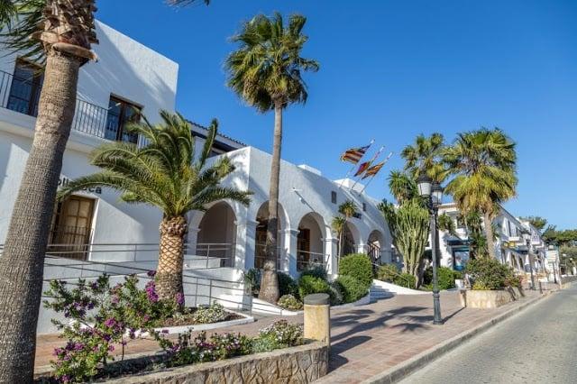 Cidade de San Jose em Ibiza