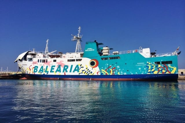 Viagem de barco de Formentera a Ibiza