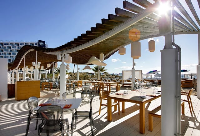 The Beach Club no Hard Rock Hotel Ibiza