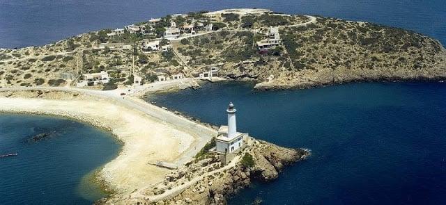 Ilha de Tagomago em Ibiza
