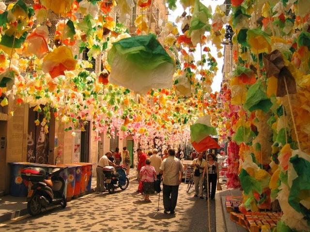 Festa Major de Gràcia em Barcelona