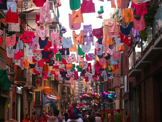 Festa Major de Sants em Barcelona