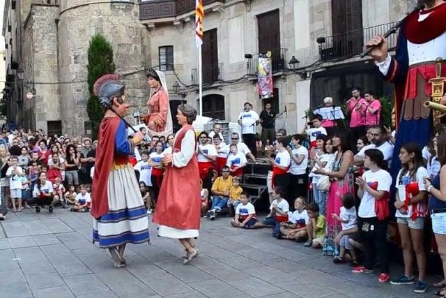 Festa de Sant Roc em Barcelona