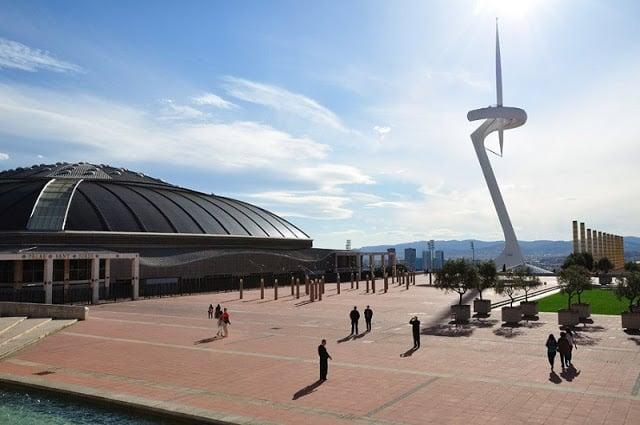 Anel Olímpico de Barcelona em Montjuic