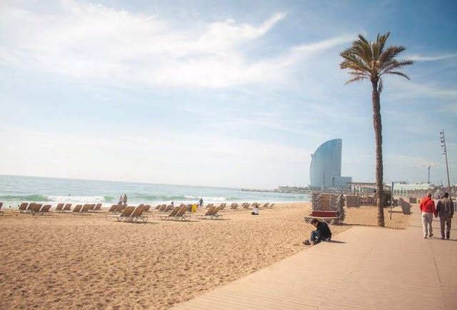 Praias de Barcelona - Barceloneta