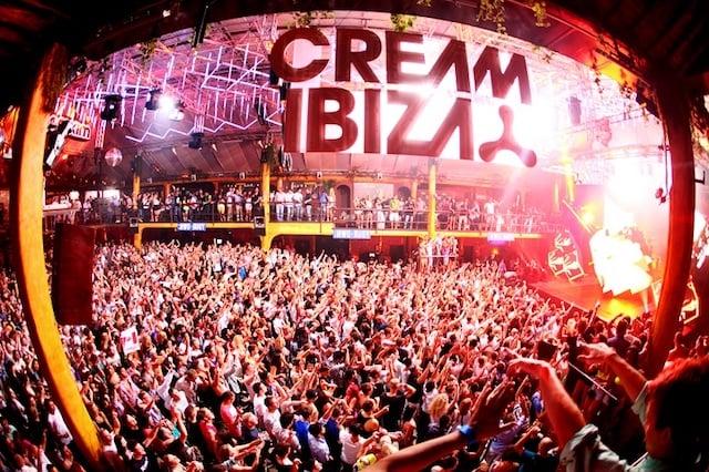 Baladas em Ibiza - festa Cream Ibiza