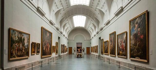Coleção do Museu del Prado em Madri