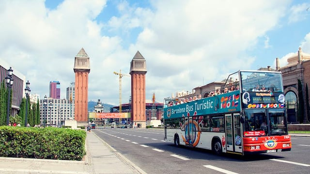 Ônibus de dois andares - Barcelona
