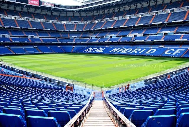 Tour no Estádio do Real Madri