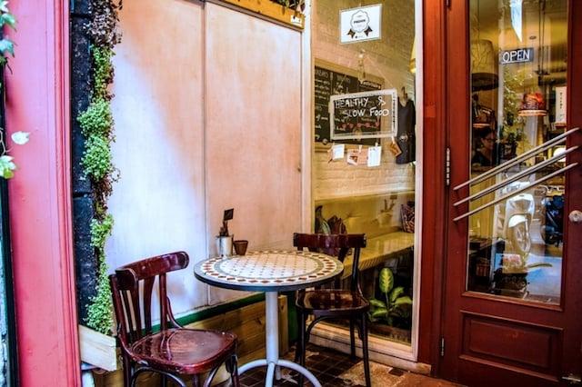 Restaurante Biocenter em Barcelona