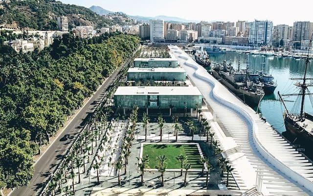 Região do Muelle Uno em Málaga