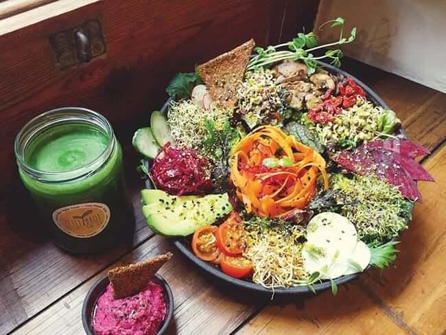 Restaurantes veganos em Barcelona