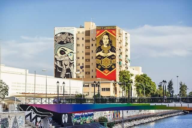 Hospedagem no Soho em Málaga