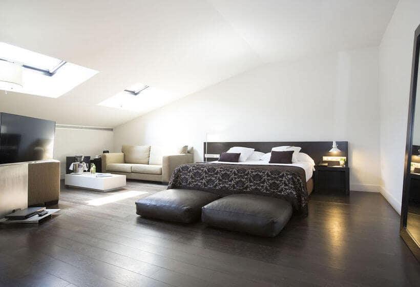 Hotel Hospes Palau de La Mar em Valência - quarto