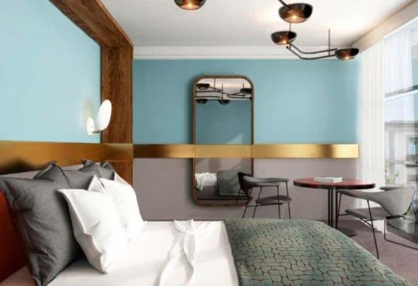 Hotel Marquis Issabel's em Granada - quarto