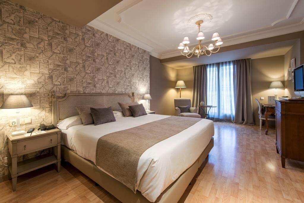 Hotel Vincci Lys em Valência - quarto