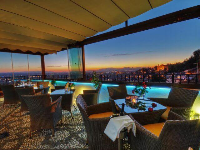 Melhores hotéis em Granada