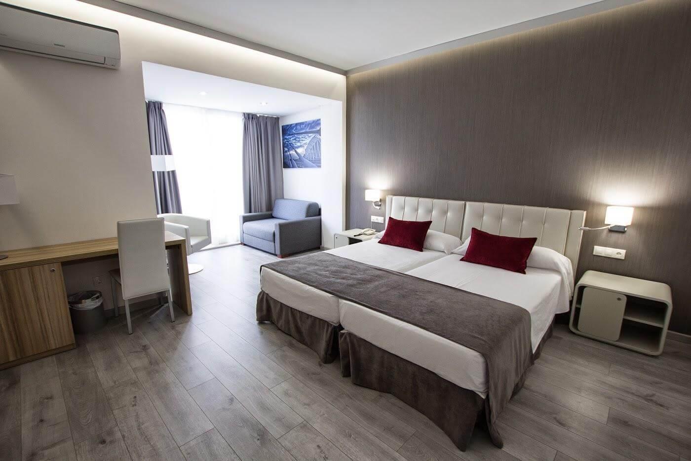 Sweet Hotel Renasa em Valência - quarto