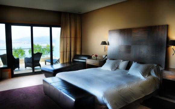 Hotel Pazo Los Escudos Spa & Beach em Vigo - quarto