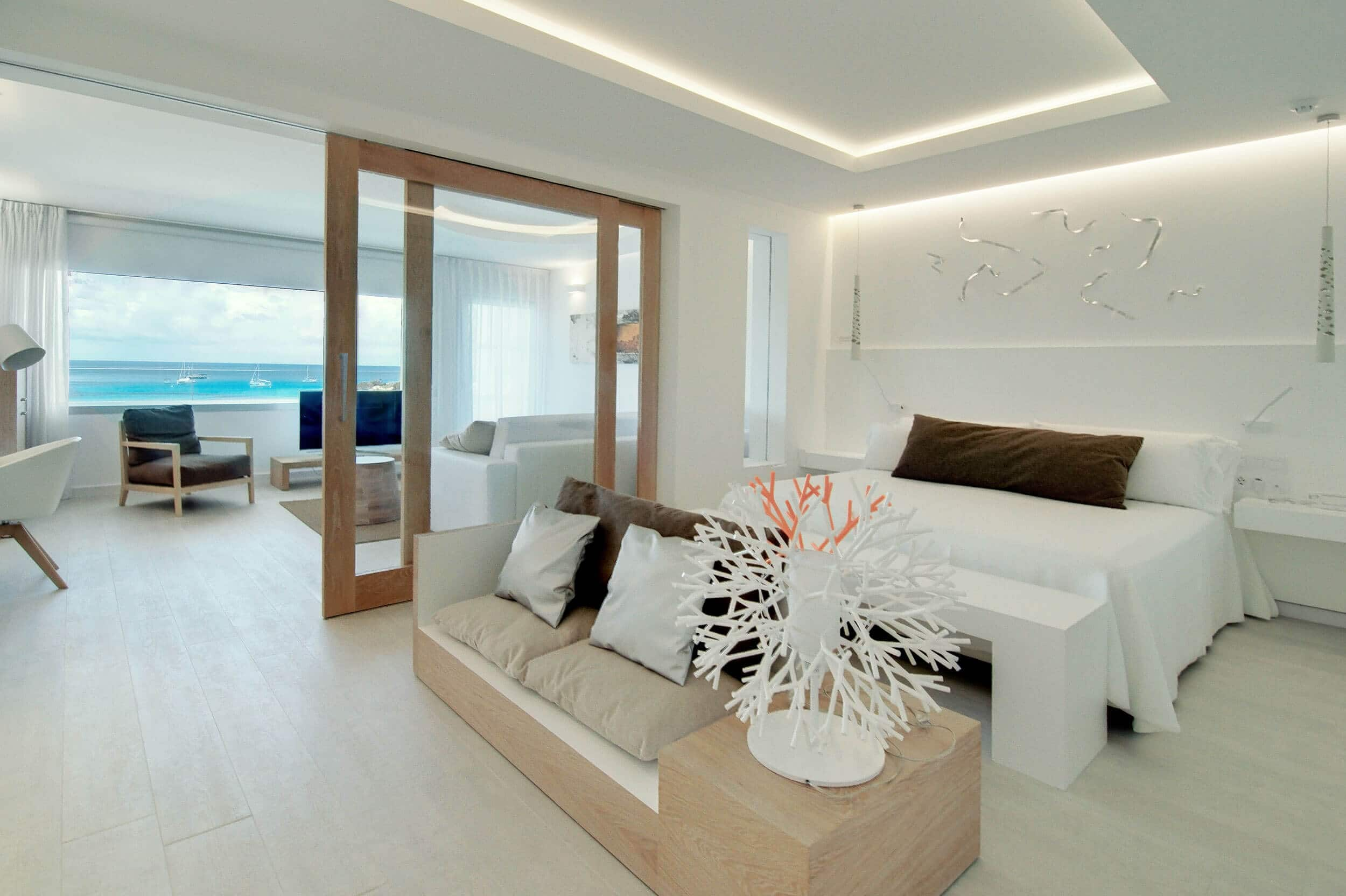 Hotel Cala Saona & Spa em Formentera - quarto
