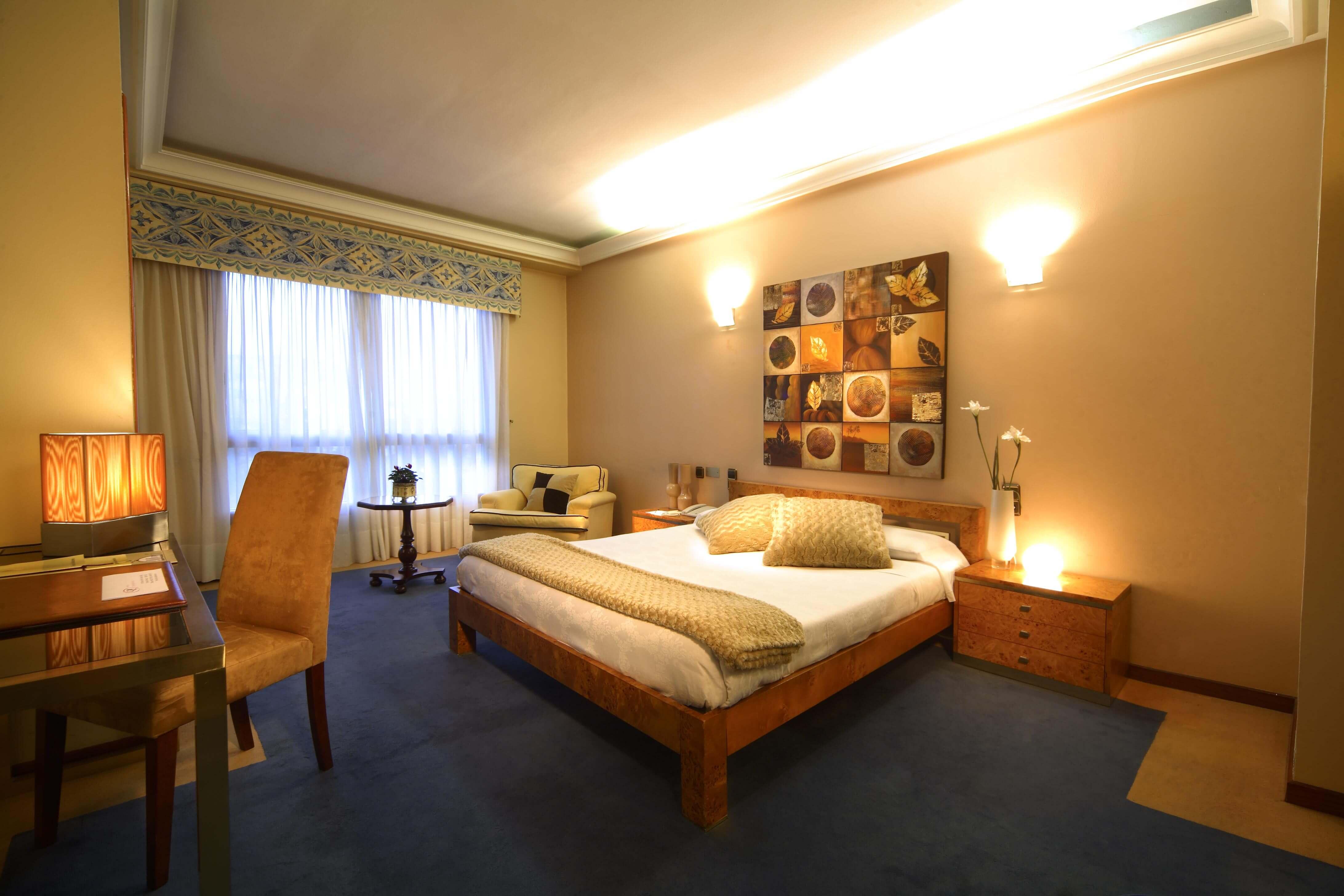 Hotel Axis em Vigo - quarto