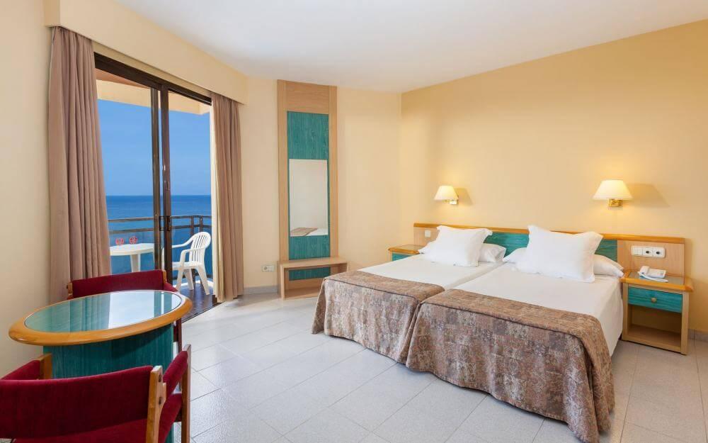 Hotel Sol em Tenerife - quarto