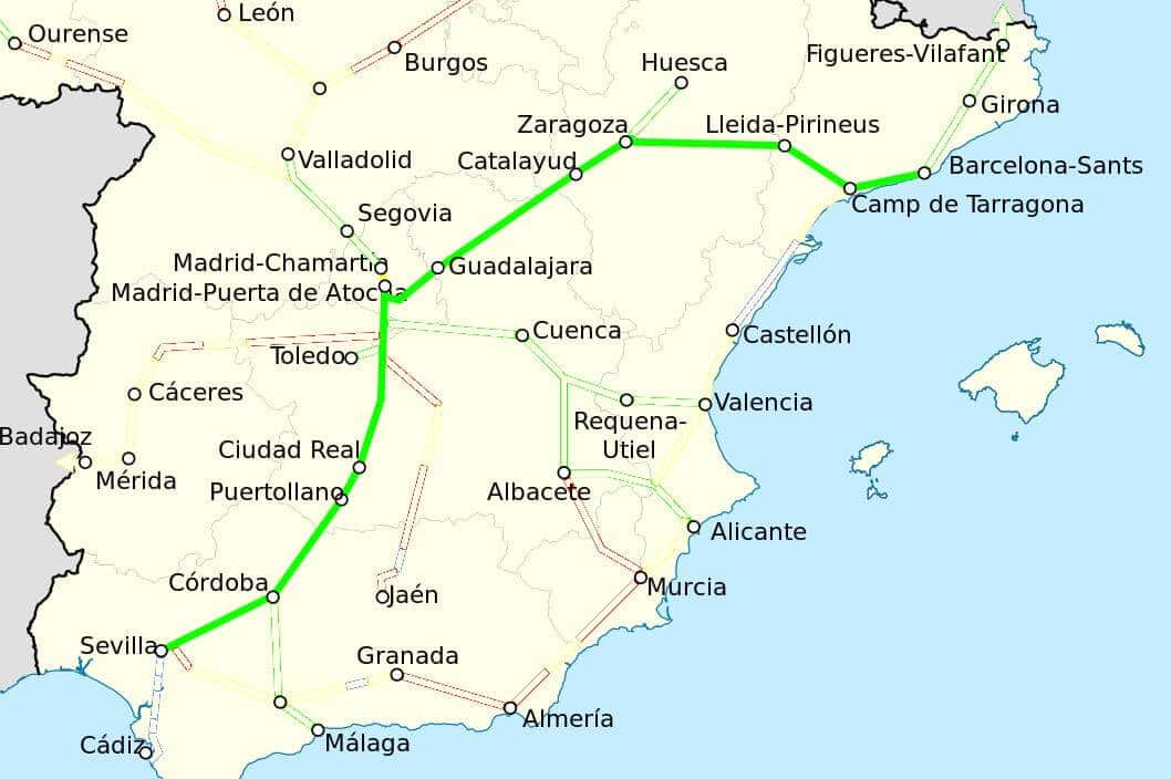Viagem De Trem De Barcelona A Sevilha 2019 Dicas De Barcelona