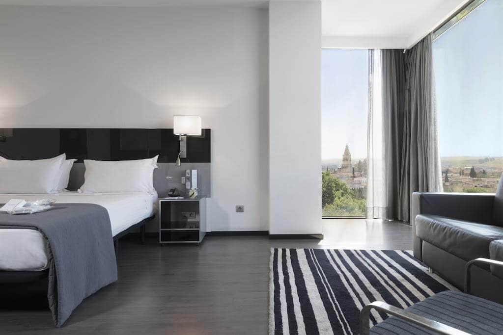HotelEurostars Palace em Córdoba - quarto