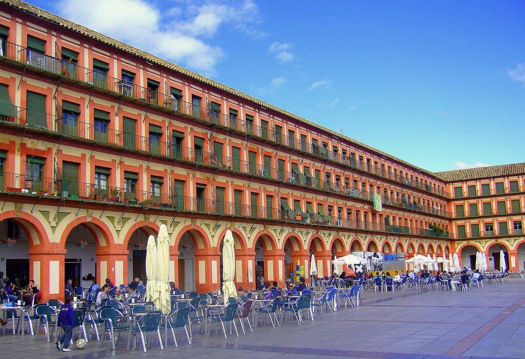 Plaza de la Corredera em Córdoba