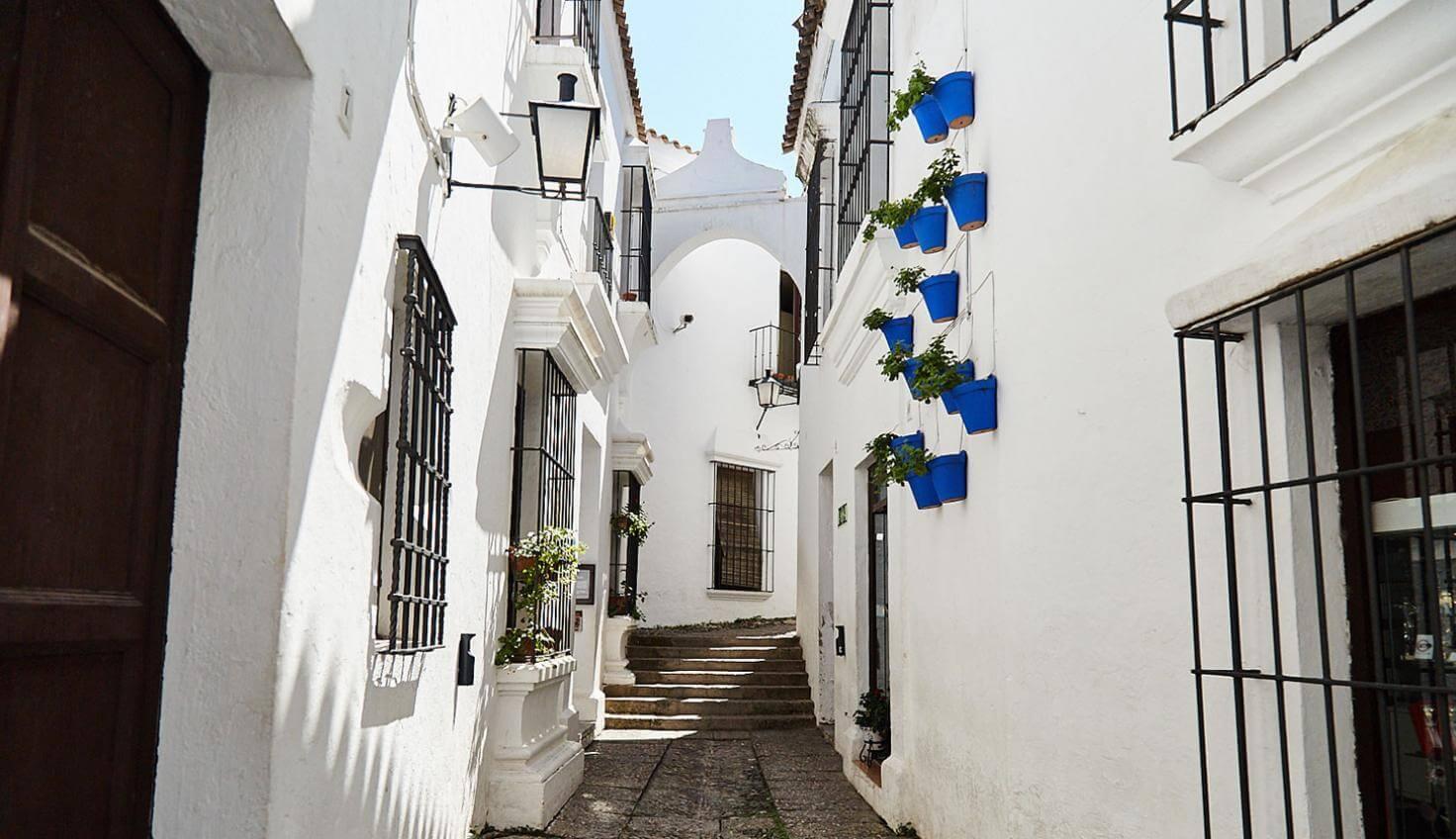 Casas típicas no Poble Espanyol