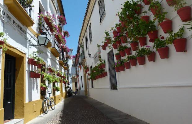 Ruas típicas de Córdoba