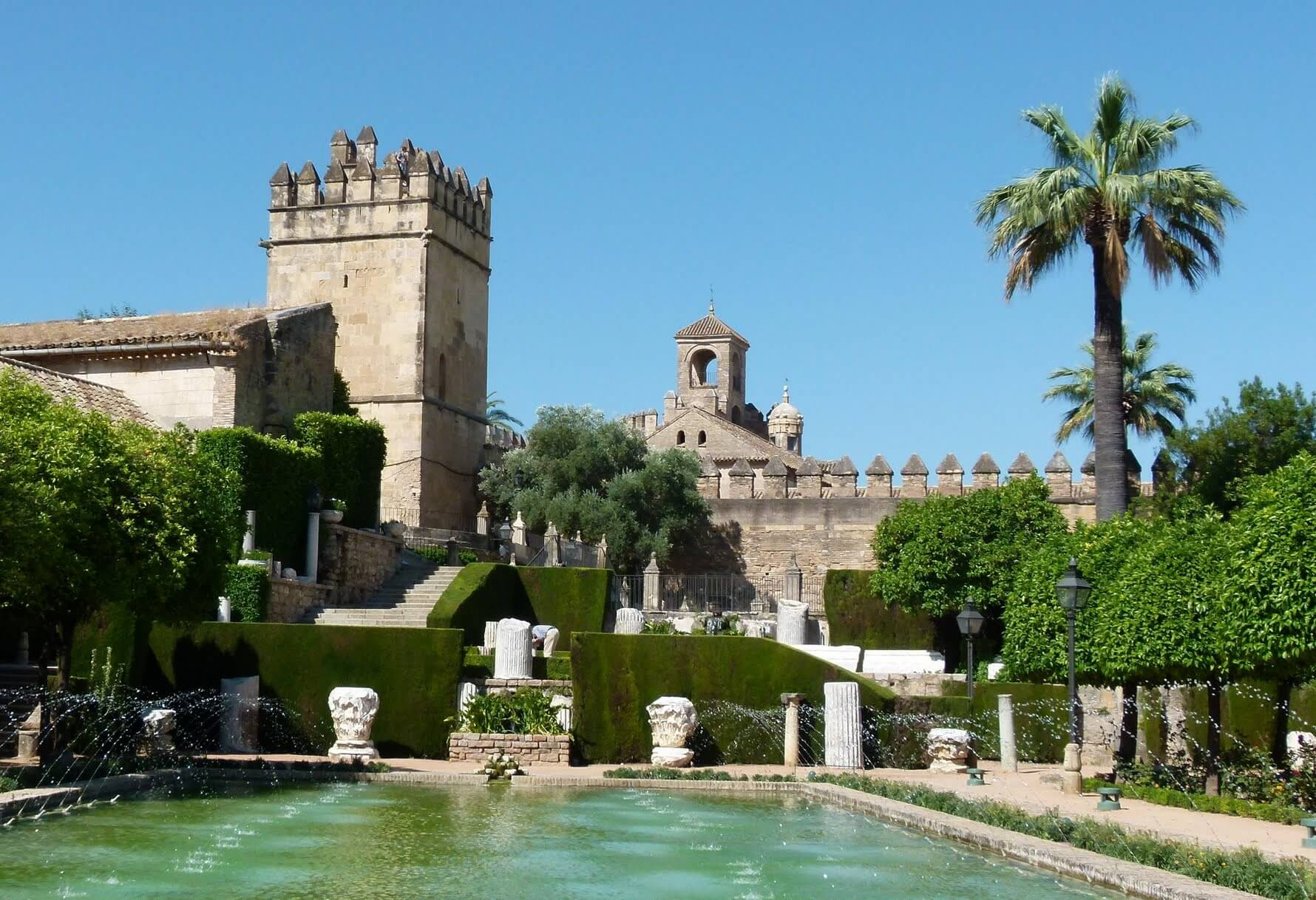 Alcázar dos Reis Cristãos em Córdoba