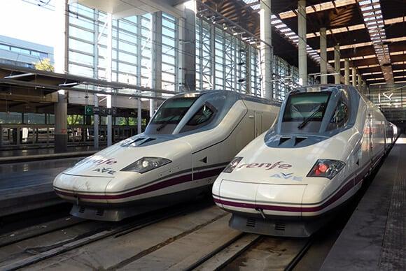 Viagem de trem de Madri a Córdoba