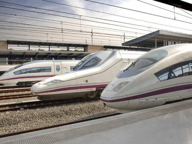 Viagem de trem de Madri a Pamplona