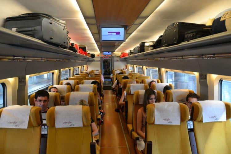 Trem de Toledo a Madri