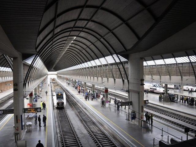 Viagem de trem de Sevilha a Córdoba