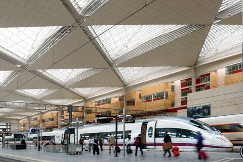 Estação Delicias em Zaragoza
