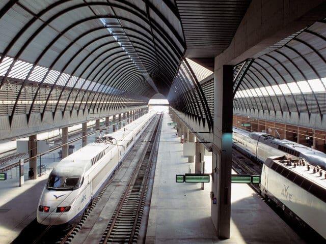 Viagem de trem de Madri a Sevilha