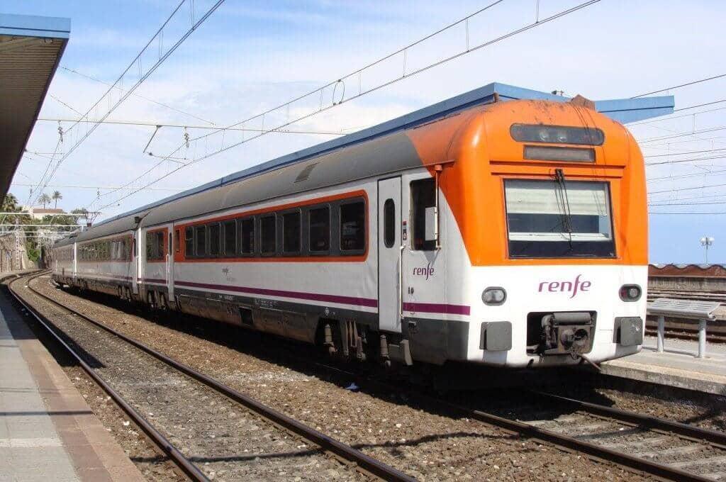 Viagem de trem de Córdoba a Sevilha