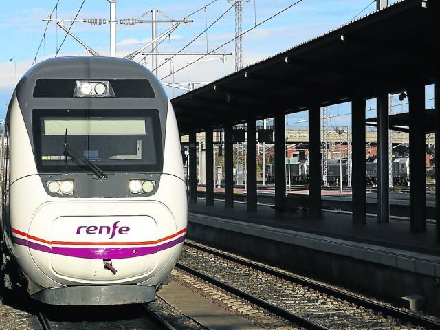 Viagem de trem de Salamanca a Madri
