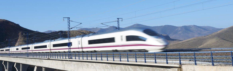 Viagem de trem de Córdoba a Madri