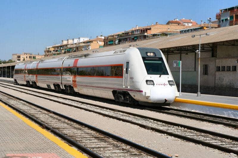 Trem de Sevilha a Granada