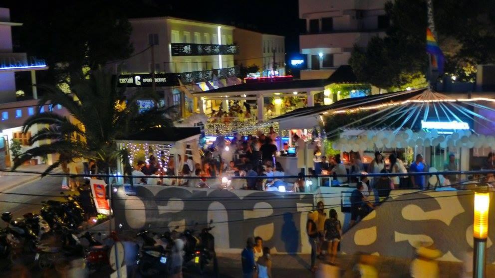 Bar Bananas & Co em Formentera