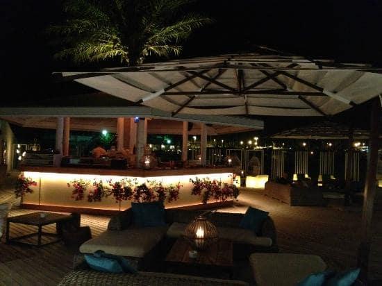 Bar Bouganville em Formentera
