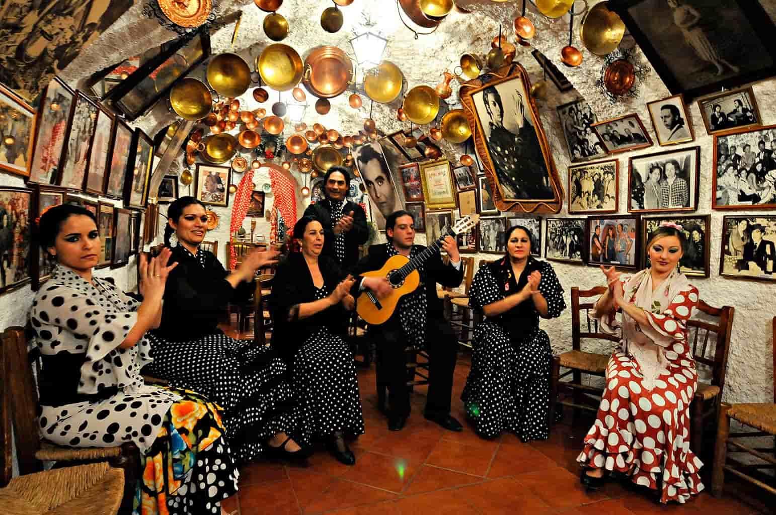 Flamenco em Sacromonte