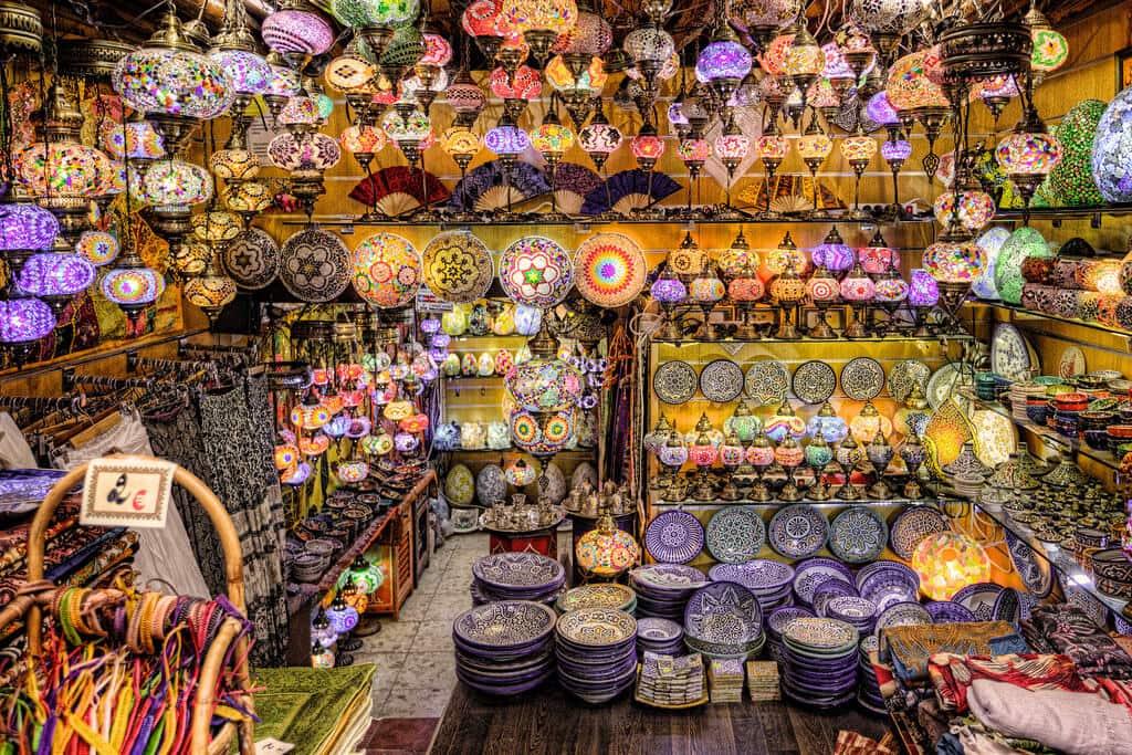 Souvenirs em Granada
