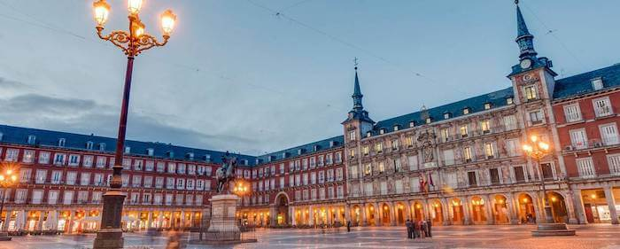 Plaza Mayor em Madri - centro