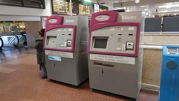 Máquinas de comprar passagem