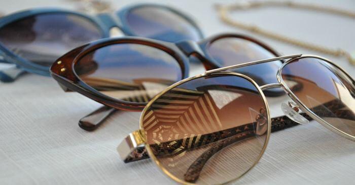 Óculos escuros em Madri